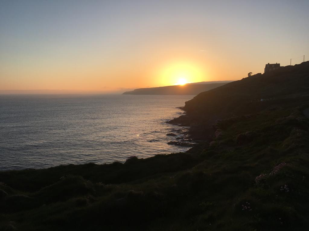 Sunset over Rinsey