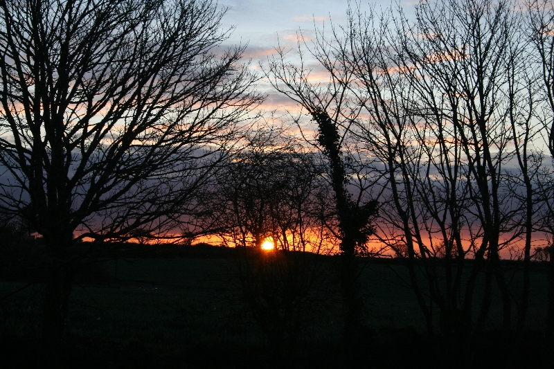 Sunrise in the Mowhay