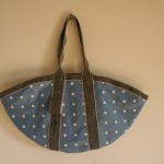 Polka Dot Bag - Blue